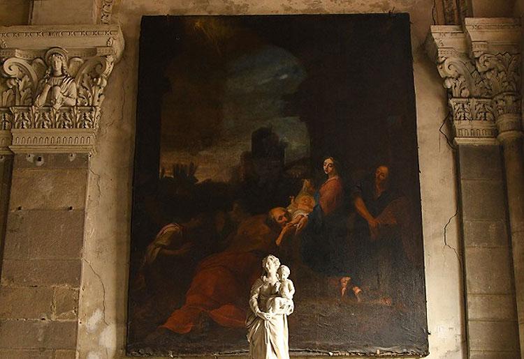 Appassionato d'arte scopre dipinto scomparso da Notre-Dame 200 anni fa in una chiesa vicino Lione