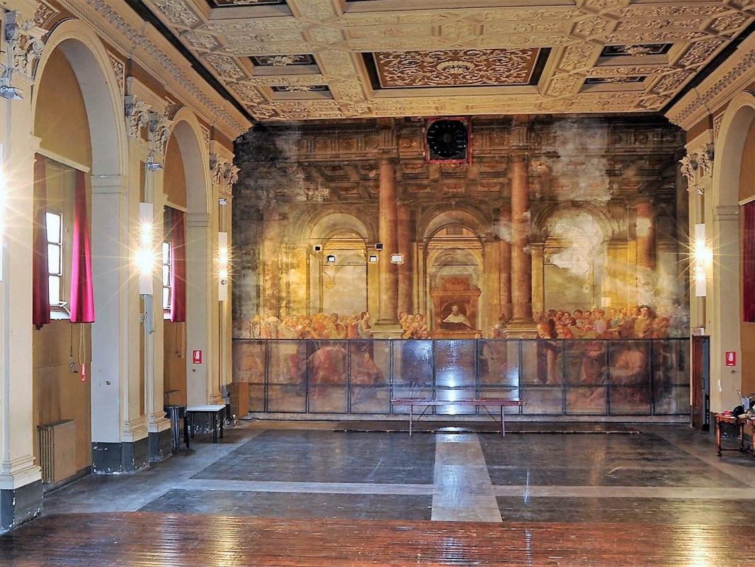 Restaurato il più grande affresco di Bologna, capolavoro del 1629 di Massari e Curti
