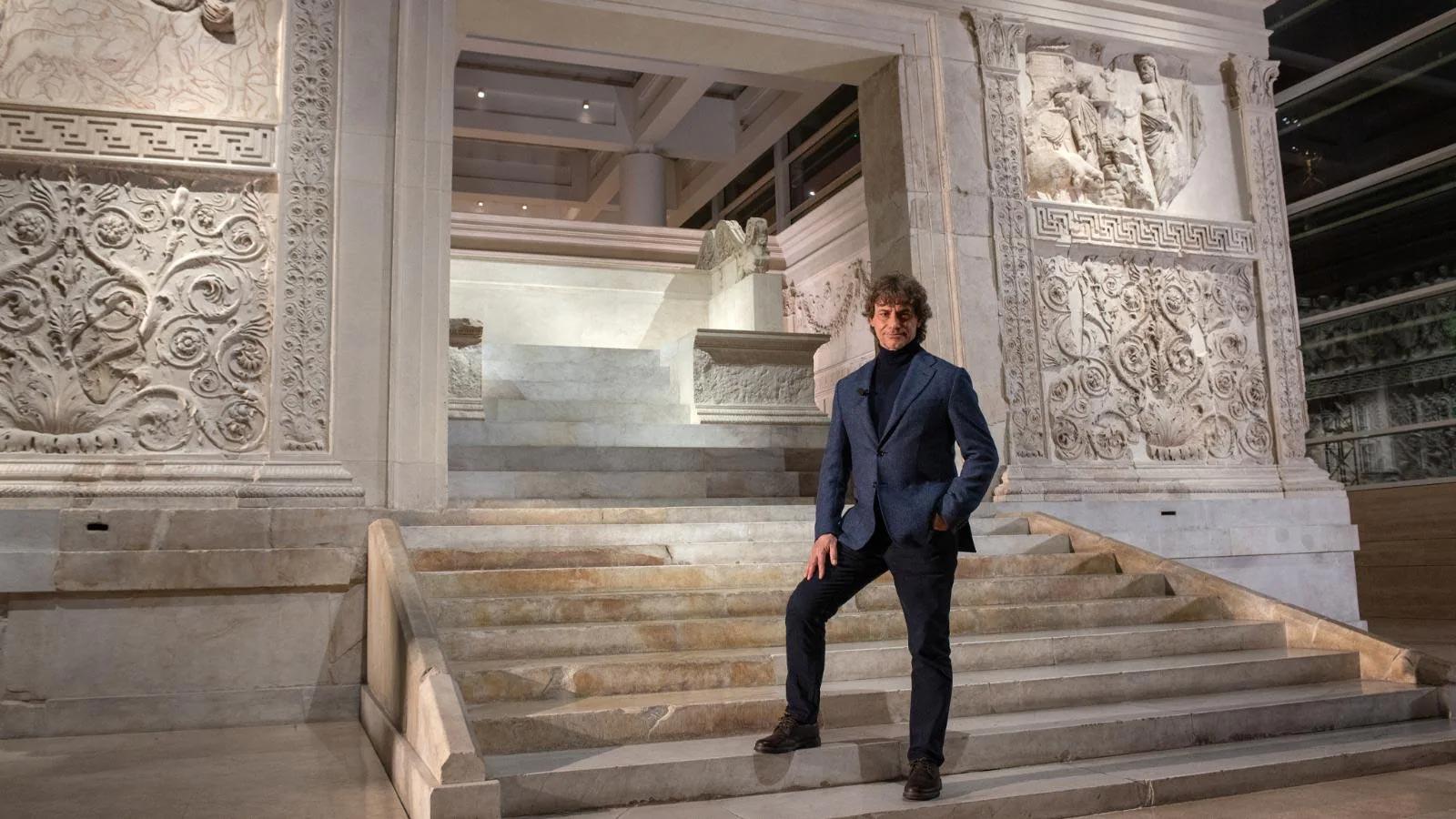 Alberto Angela torna stasera in tv con una nuova stagione di Ulisse. Si parte da Roma