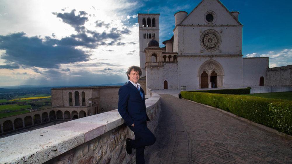 Questa sera alla scoperta di un'Assisi inedita con Alberto Angela