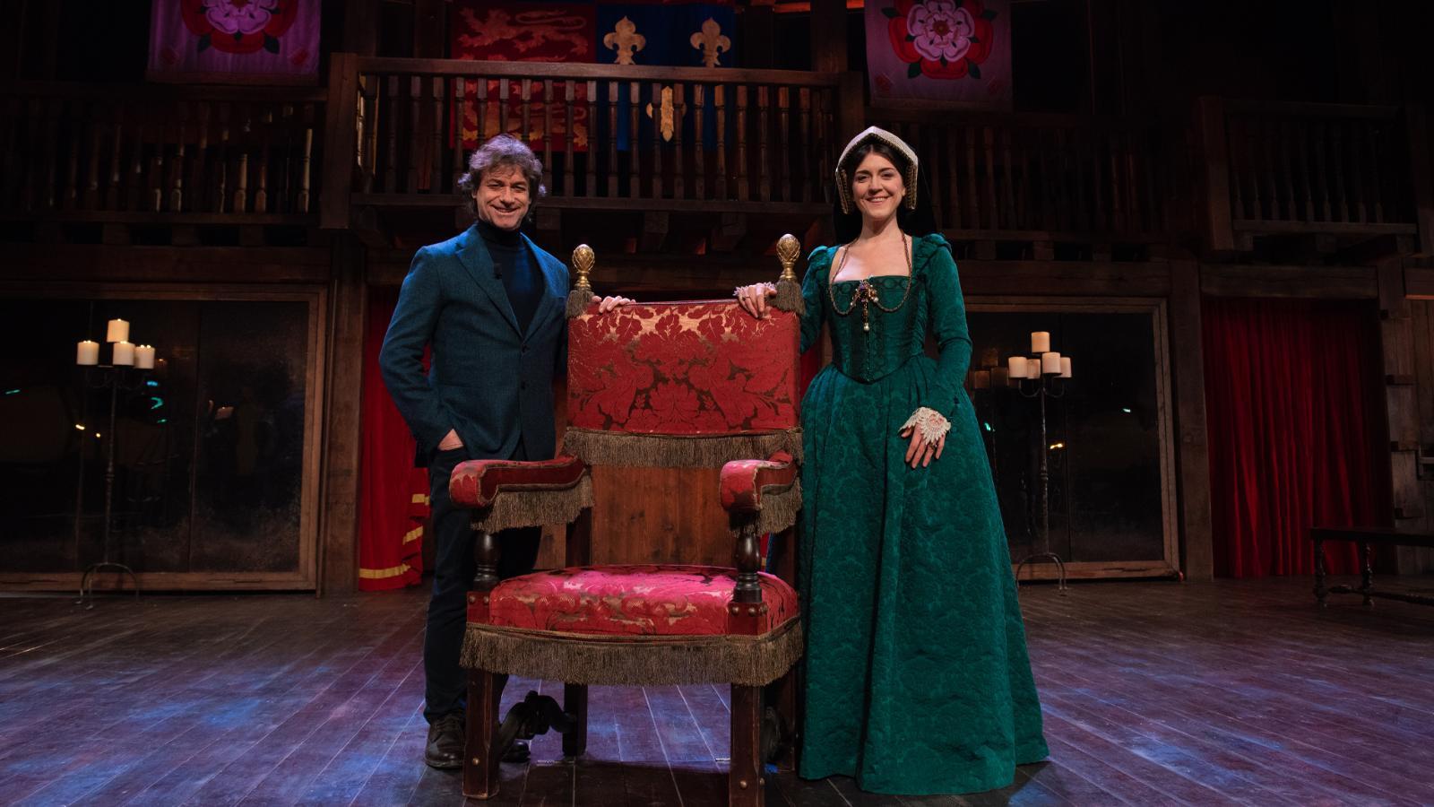 Angela e Barbero alleati per raccontare Enrico VIII dal punto di vista delle sue mogli