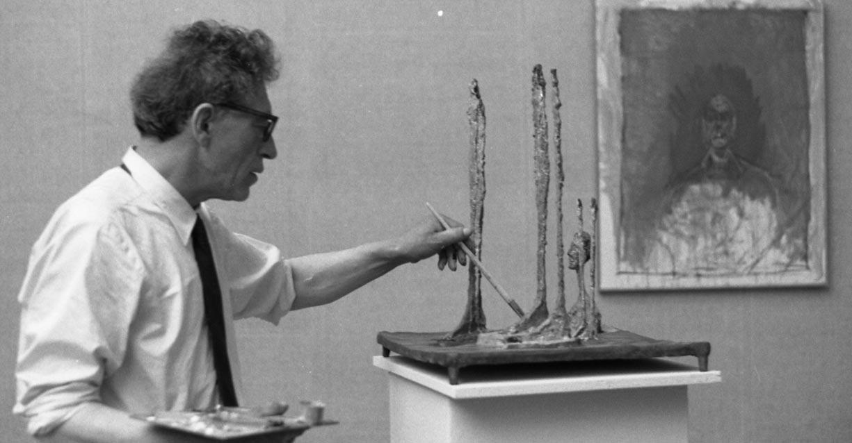 Giovedì su Sky Arte, in prima tv, il documentario su Alberto Giacometti secondo Stanley Tucci