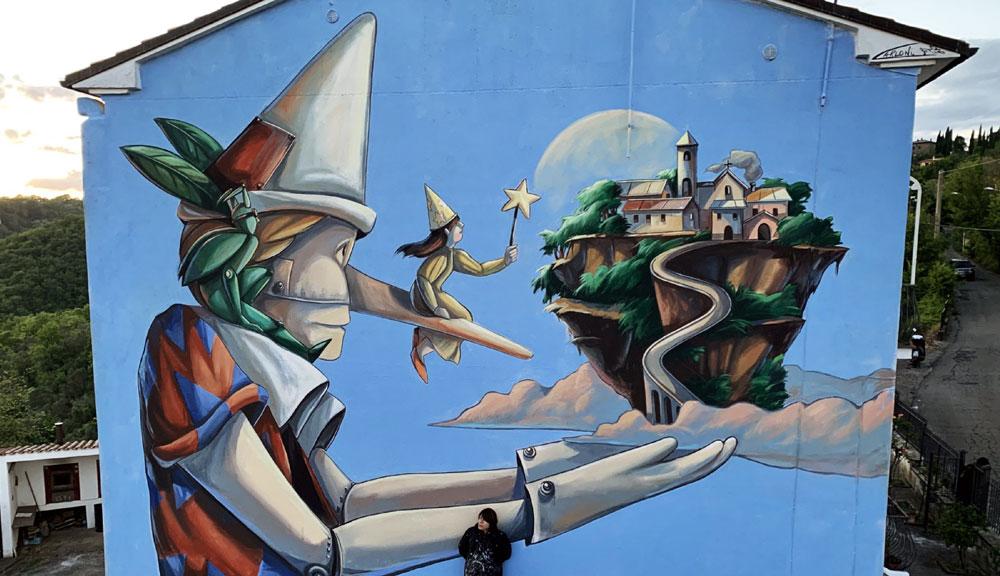 Street art, Antrodoco (Rieti) diventerà una galleria d'arte urbana a cielo aperto