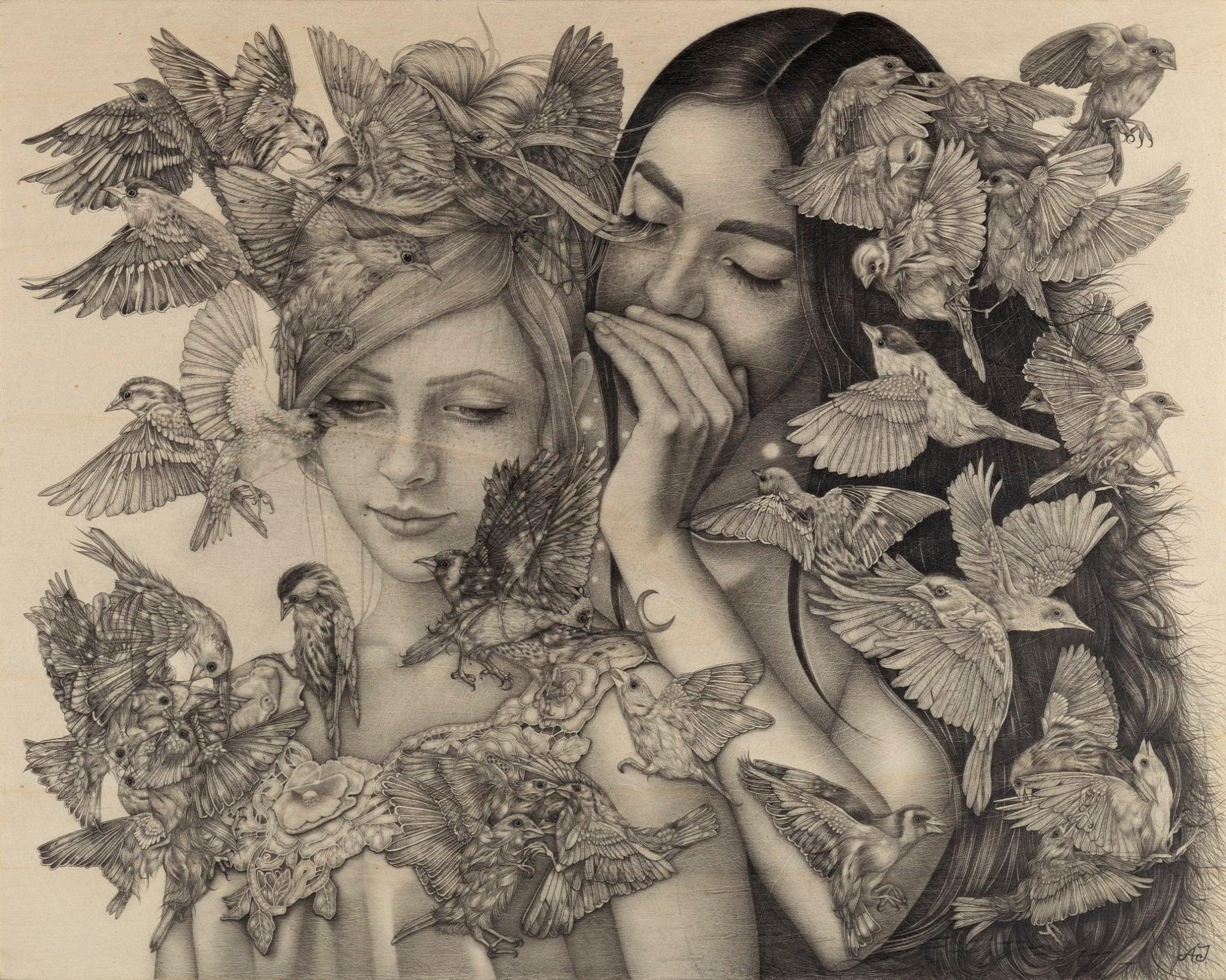 """Le atmosfere oniriche di Alessia Iannetti in mostra a Roma con """"Aurora Consurgens Reprise"""""""