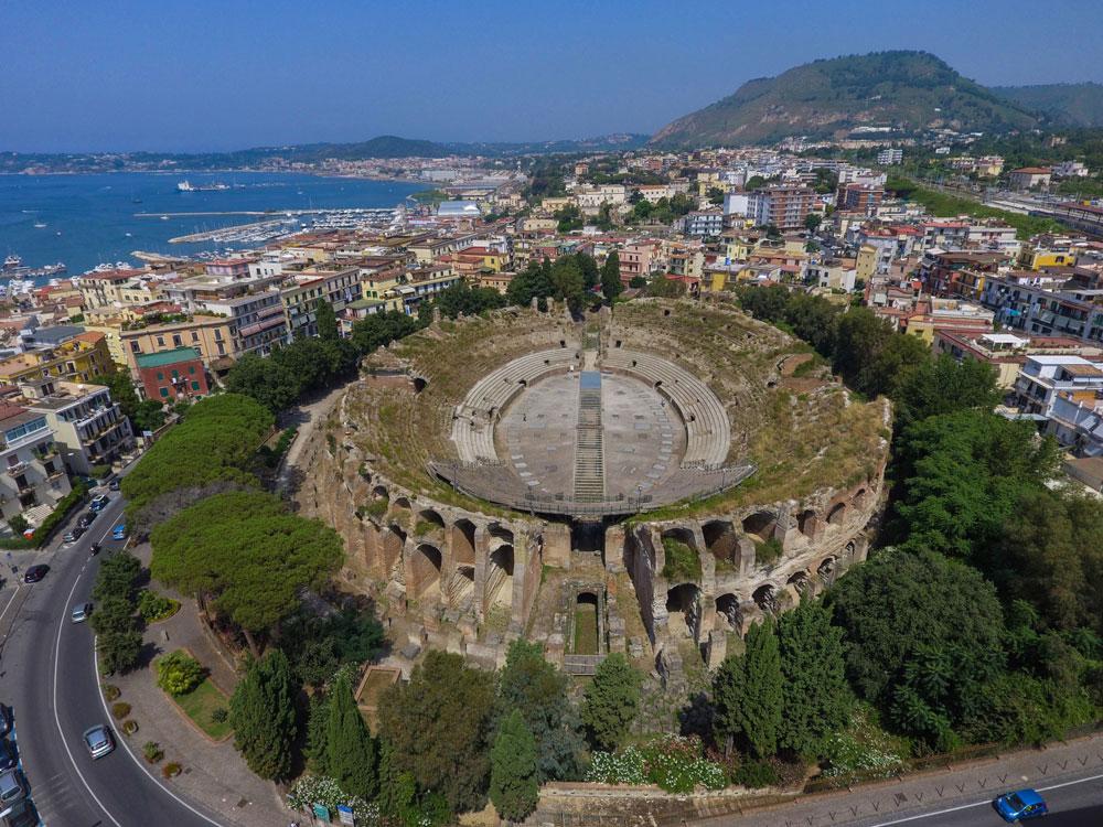 Pozzuoli, nessun danno alle strutture dell'Anfiteatro Flavio, ma si metta subito in sicurezza