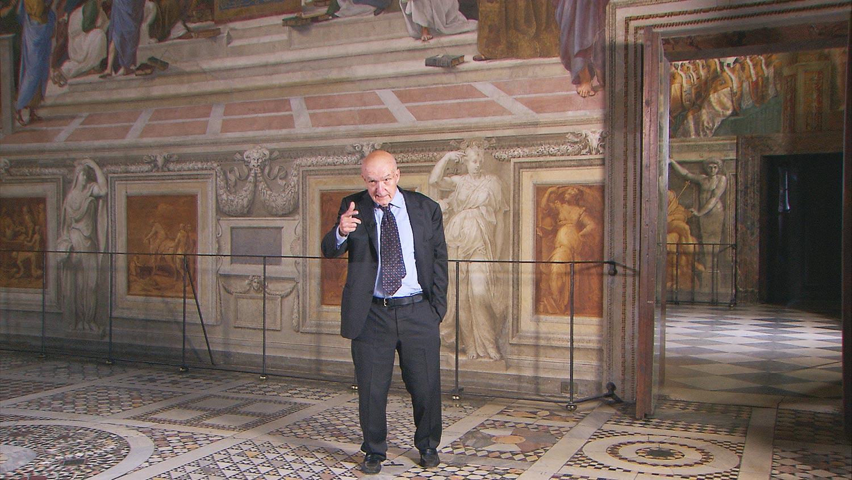 Su Rai 5 in onda il documentario sulle Stanze Vaticane di Raffaello con Antonio Paolucci