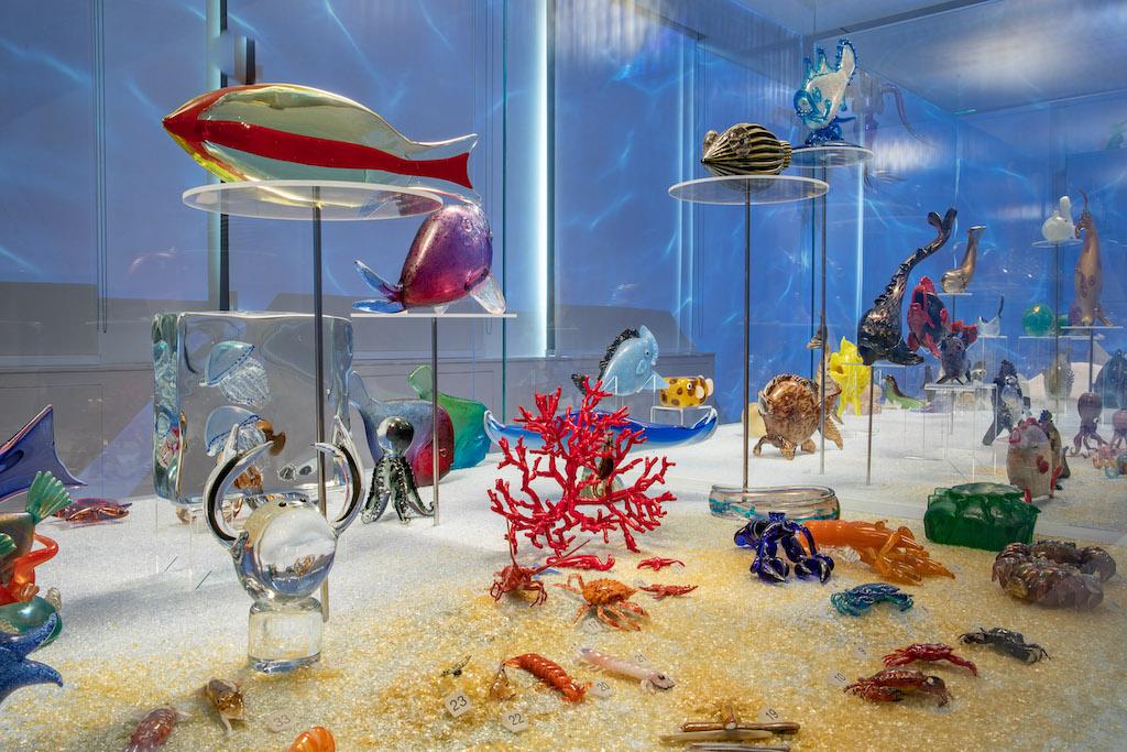 Gli animali in vetro di Murano della collezione di Pierre Rosenberg in mostra a Venezia