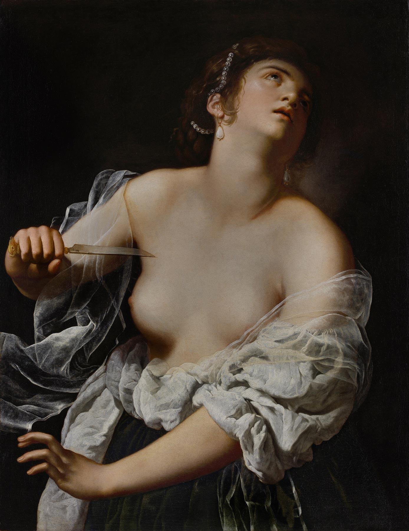 Il Getty Museum di Los Angeles acquista la Lucrezia di Artemisia Gentileschi