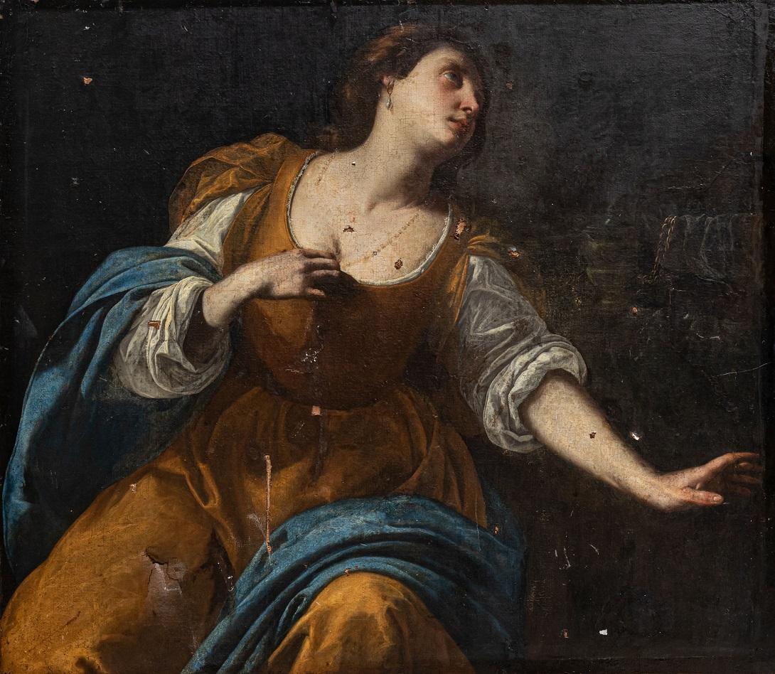 Due dipinti attribuiti ad Artemisia Gentileschi risorgono dall'esplosione di Beirut del 2020