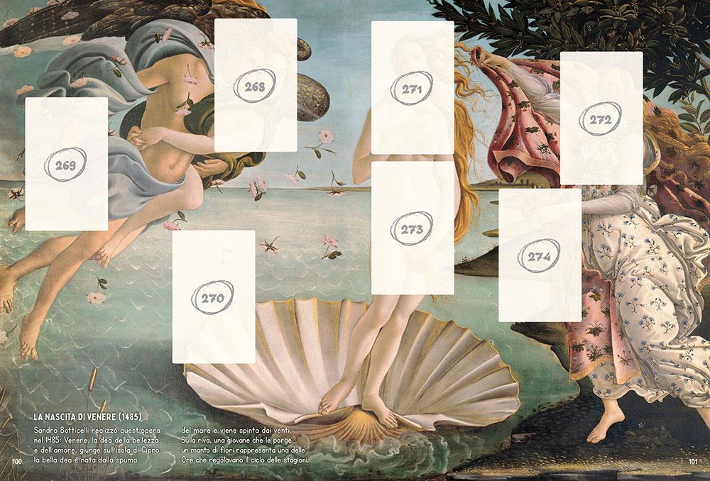 Esce l'album di figurine delle opere d'arte di tutto il mondo
