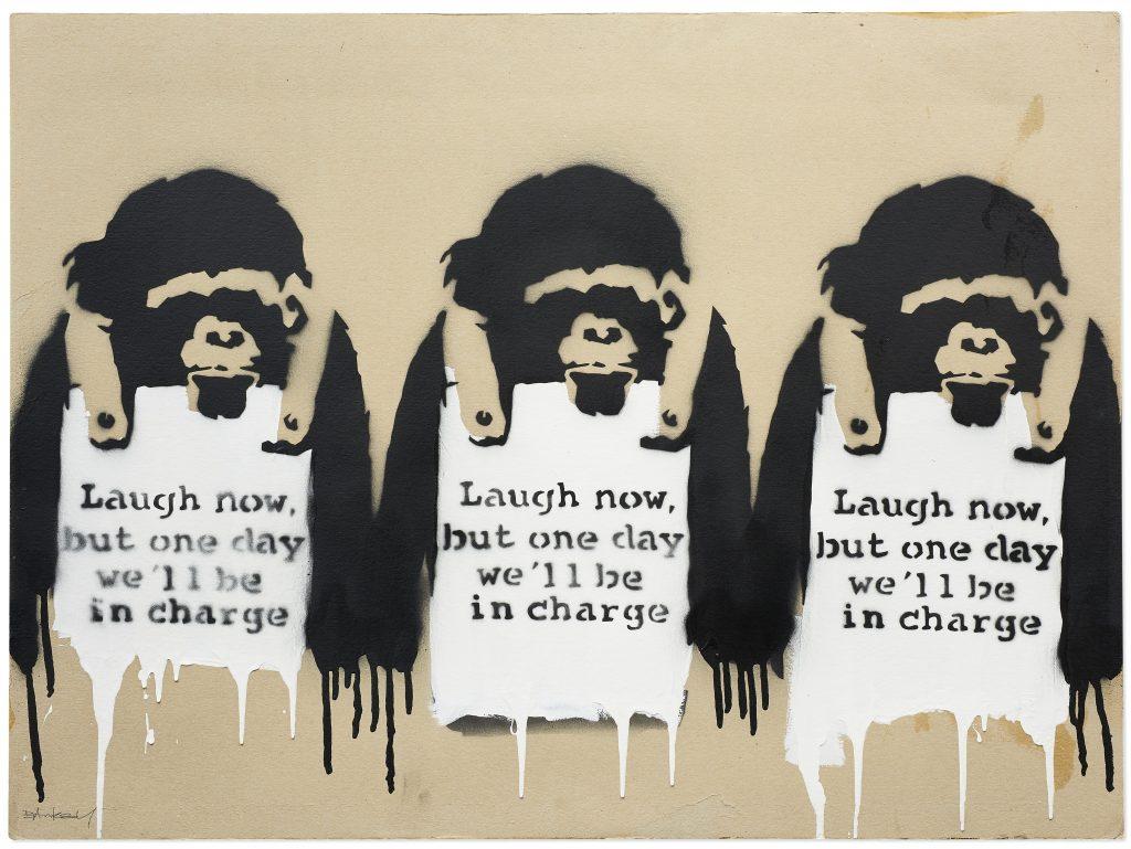 """Banksy perde un'altra battaglia sul marchio: """"è lui stesso a dire che il copyright è da sfigati"""""""