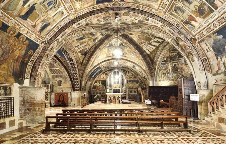 Assisi, la vela di San Francesco è in stato critico: le servono un restauro e l'aiuto di tutti