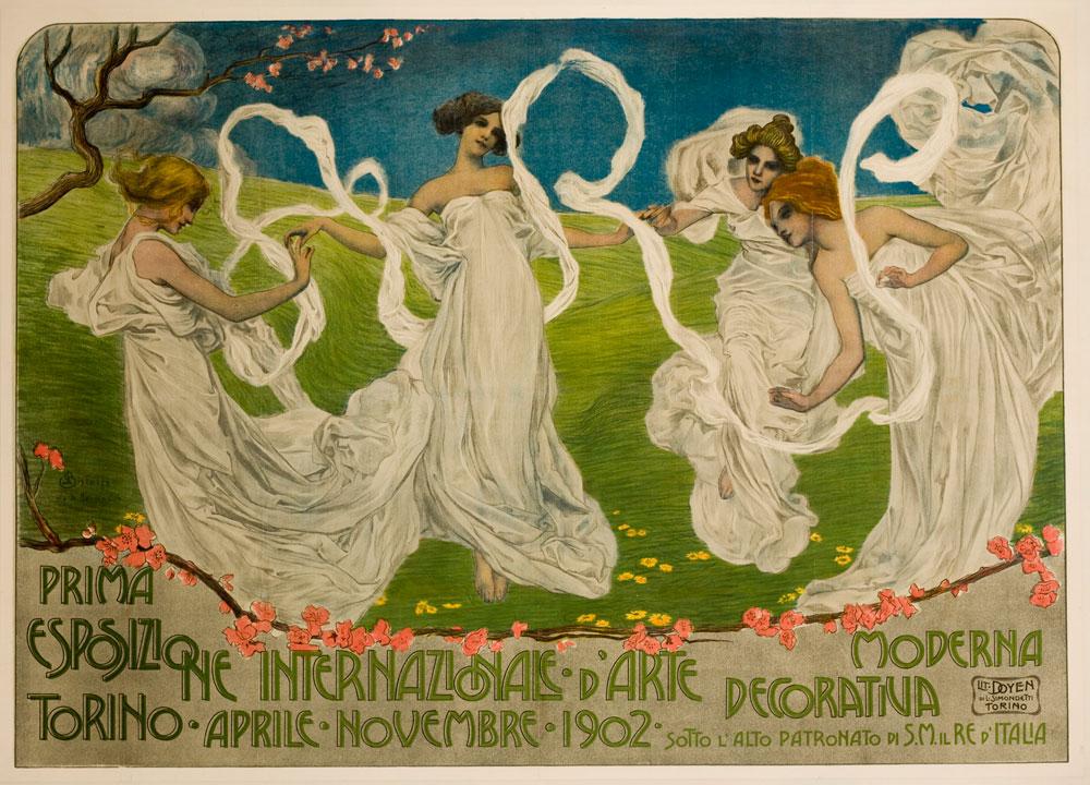 La socialità in Italia tra Liberty e Art déco: a Seravezza opere dei grandi maestri del Novecento