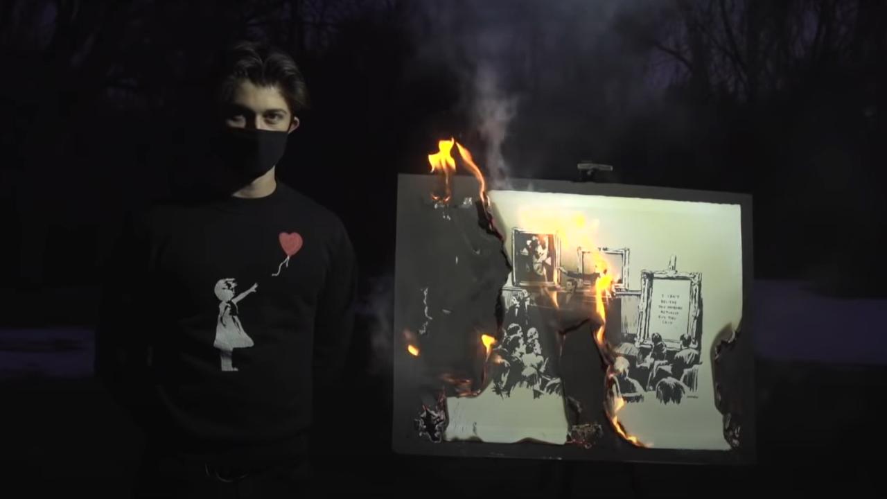 Inghilterra, bruciano un Banksy autentico... e ci ricavano 320mila euro!