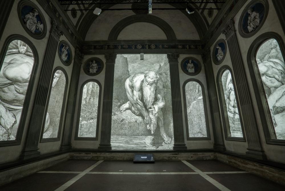 Firenze, per la prima volta le incisioni di Doré per la Commedia dantesca diventano un'opera immersiva