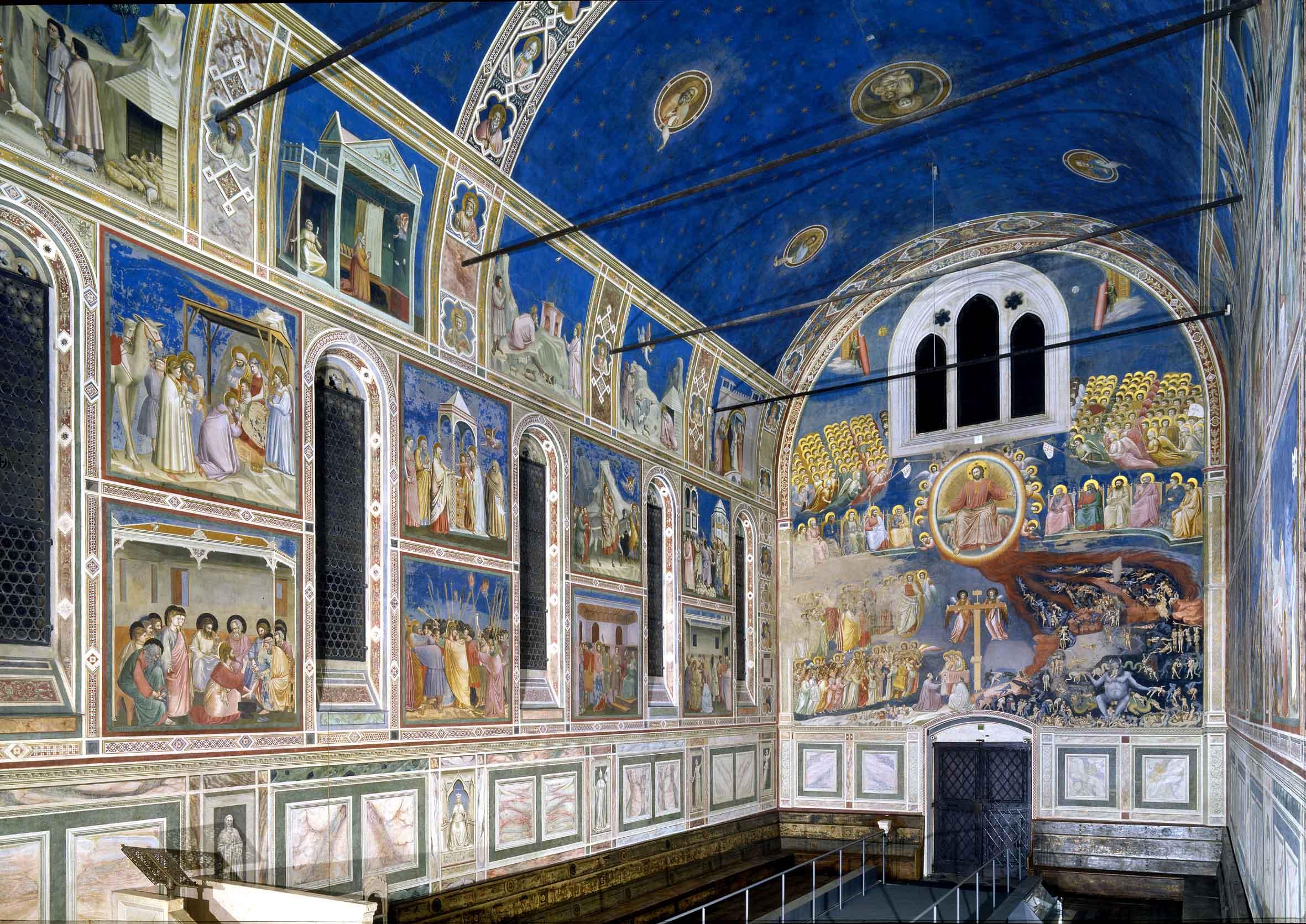 La Cappella degli Scrovegni in gigapixel per scoprirne i dettagli