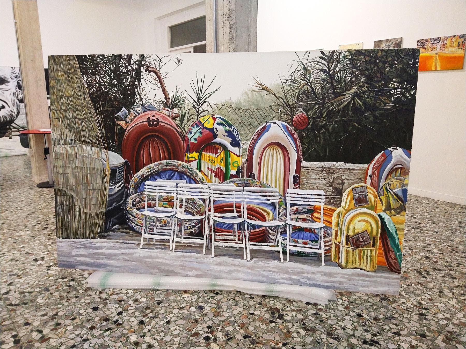 Carrara, allo spazio Vôtre la mostra-omaggio ad Andrea Di Marco