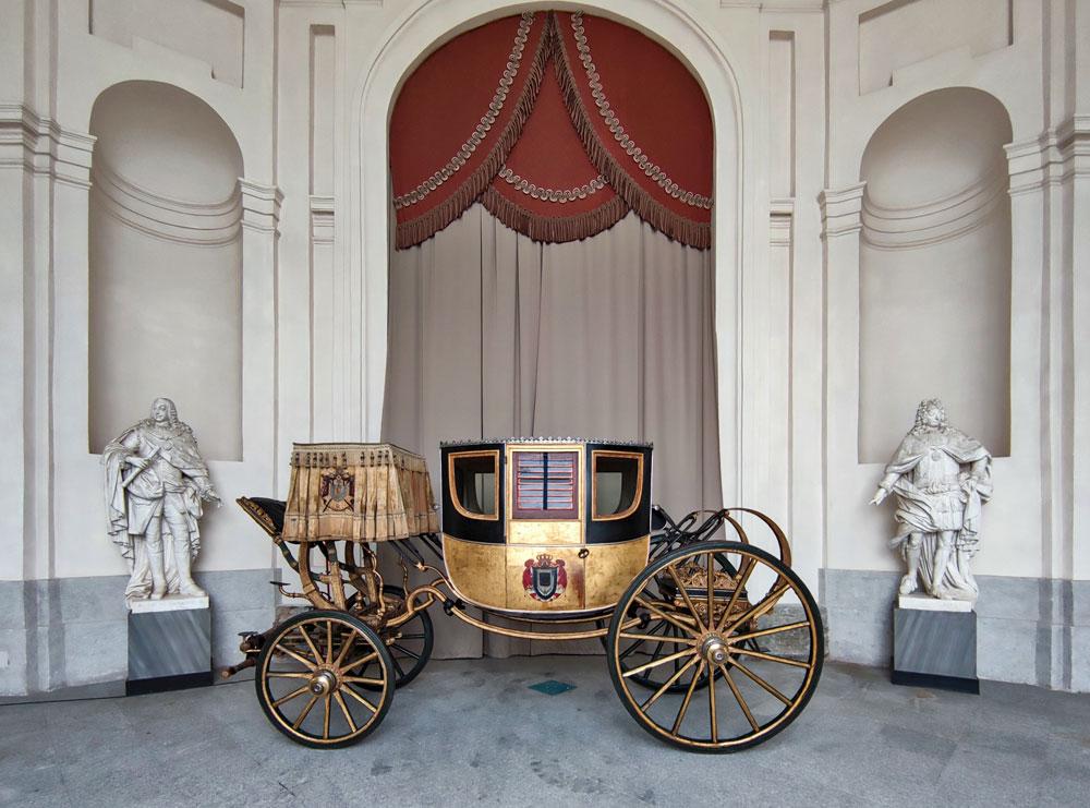 Esposta alla Reggia di Venaria la carrozza di Napoleone