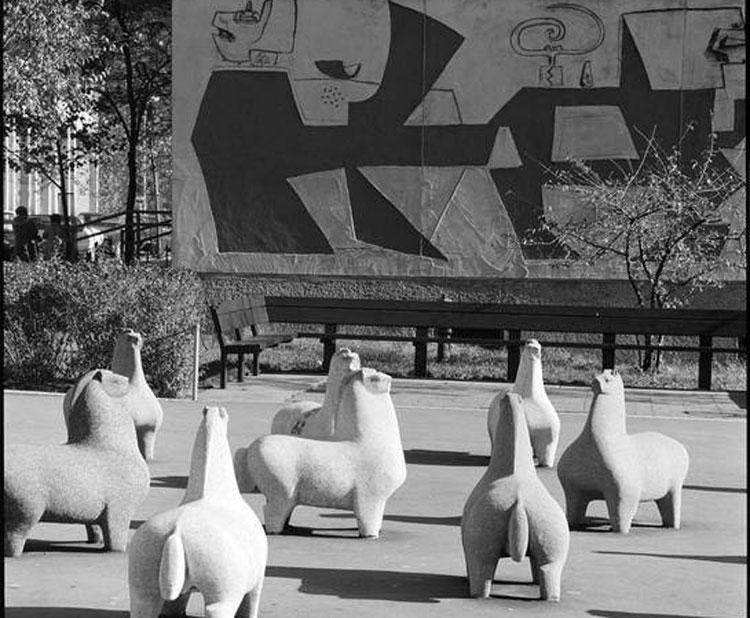 New York, i cavallini di Nivola torneranno nei giardini delle Wise Towers
