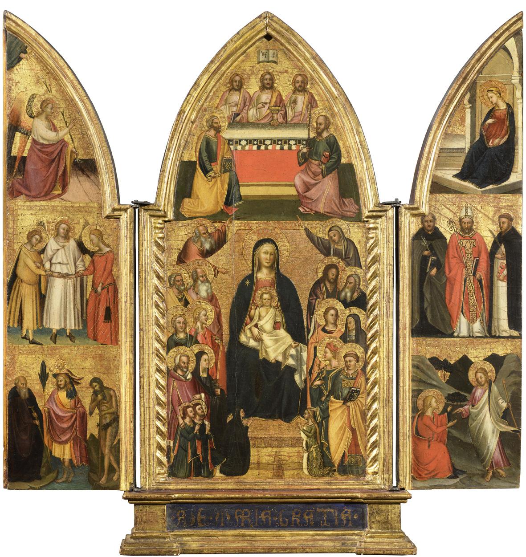 Bagliori gotici: l'arte del Trecento in mostra alla Galleria Salamon di Milano