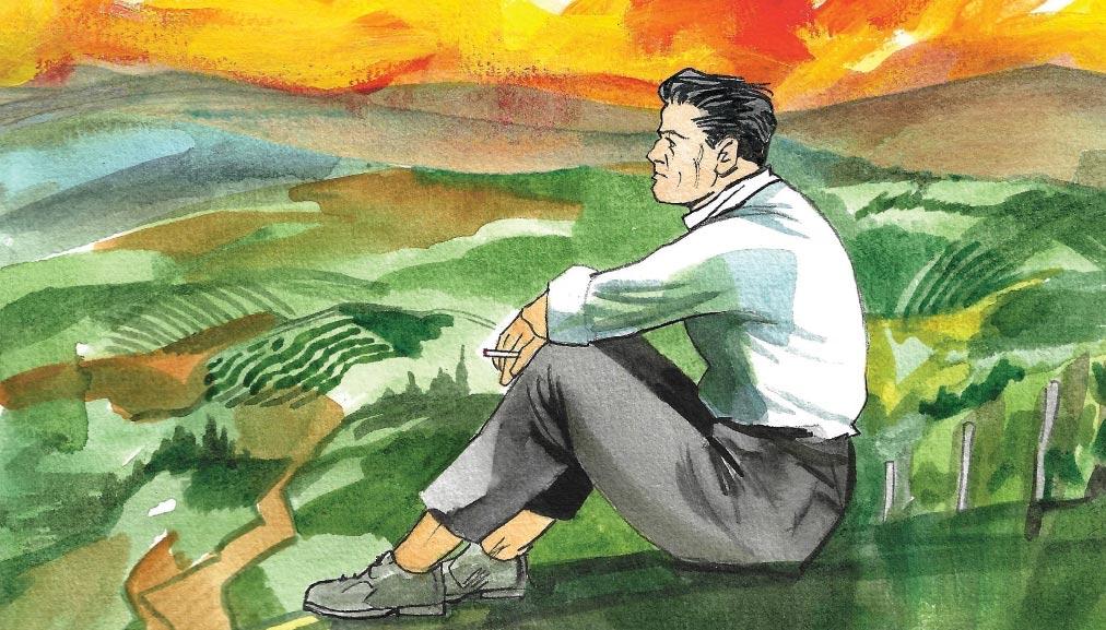 """""""La luna e i falò"""", il capolavoro di Cesare Pavese, diventa una storia a fumetti"""