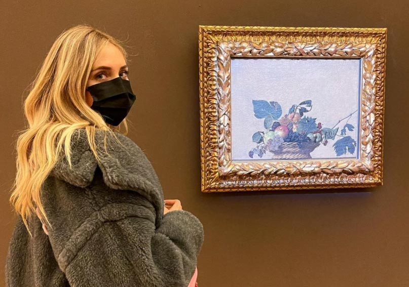 Chiara Ferragni ancora per i musei: l'invito ad andare all'Ambrosiana quando riaprirà