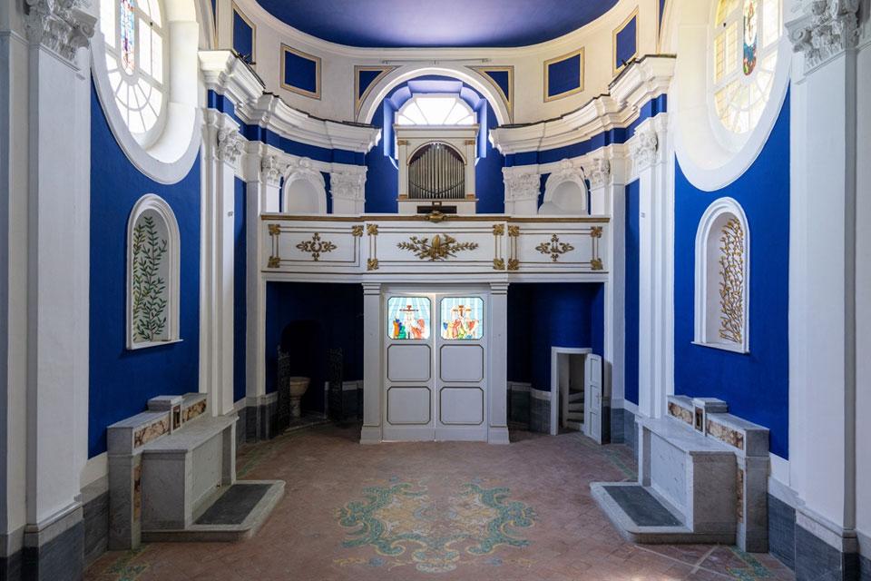 Una cappella barocca settecentesca completamente trasformata: è l'opera totale di Calatrava