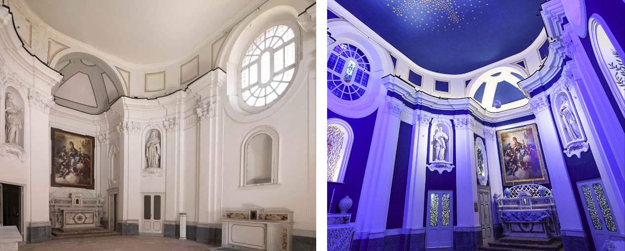Ironia, sberleffi e critiche per la chiesa ridecorata da Calatrava. E Bellenger si irrita