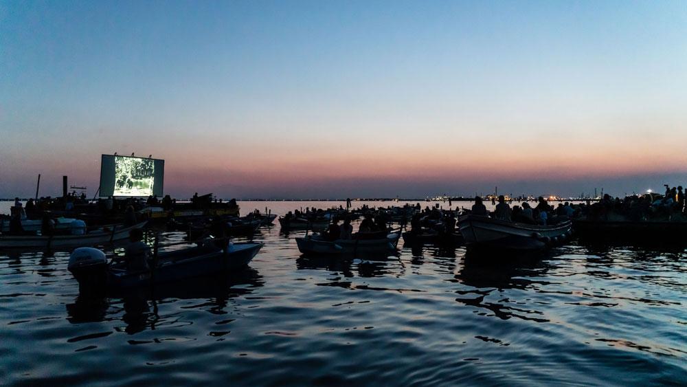 Al via il cinema...galleggiante nella laguna di Venezia: dodici serate sul tema del viaggio