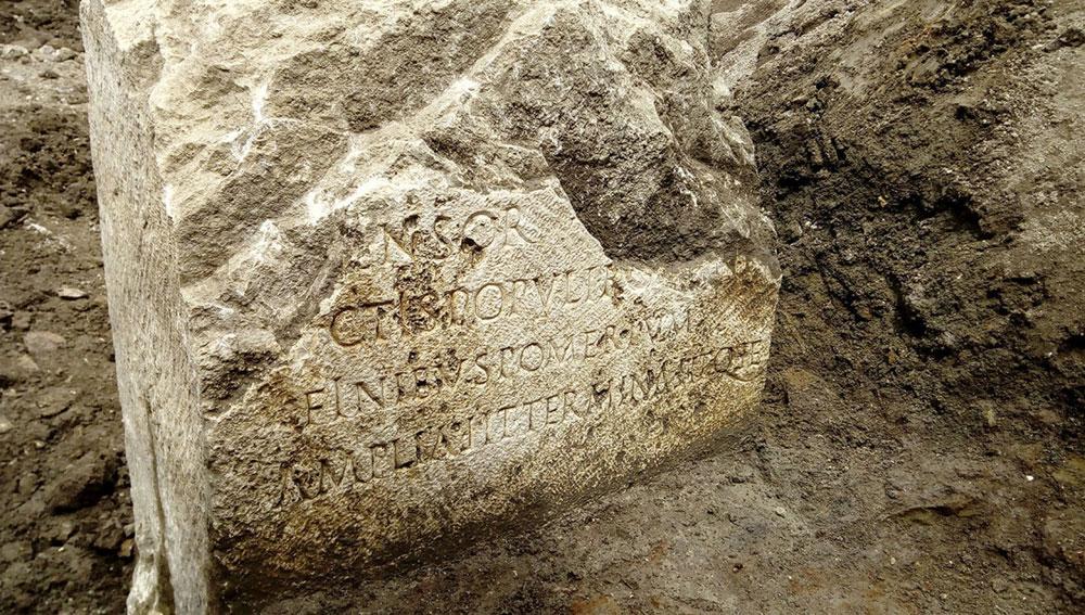 Rara scoperta a Roma: un cippo testimonianza dell'ampliamento della città all'epoca di Claudio