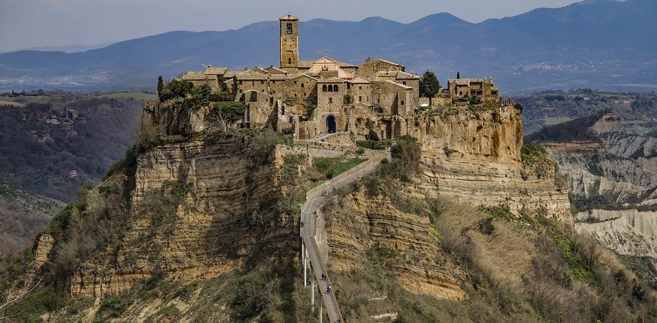 Civita di Bagnoregio candidata a entrare nel Patrimonio Mondiale dell'Umanità Unesco