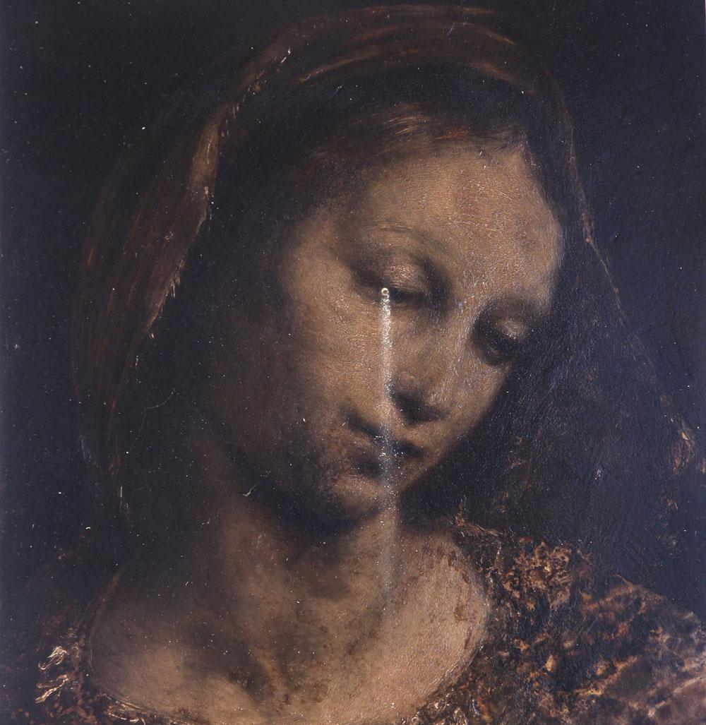 Nicola Samorì reinterpreta la Madonna di Foligno di Raffaello