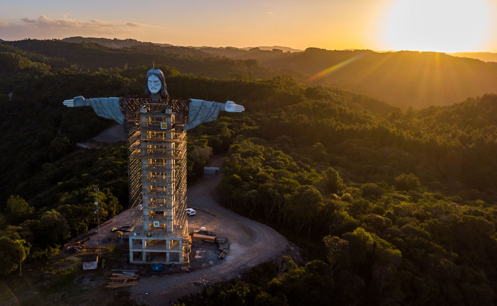 In Brasile è in costruzione un Cristo più alto di quello di Rio de Janeiro