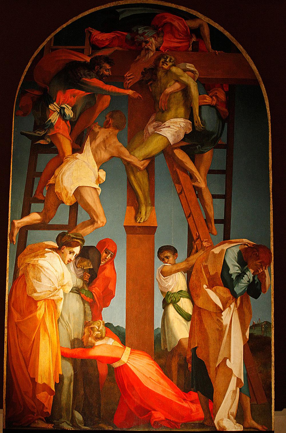 A settembre restauro a cantiere aperto per la Deposizione del Rosso Fiorentino