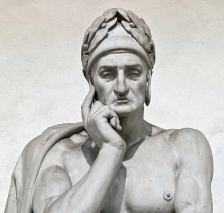 Restaurato il cenotafio di Dante nella Basilica di Santa Croce a Firenze