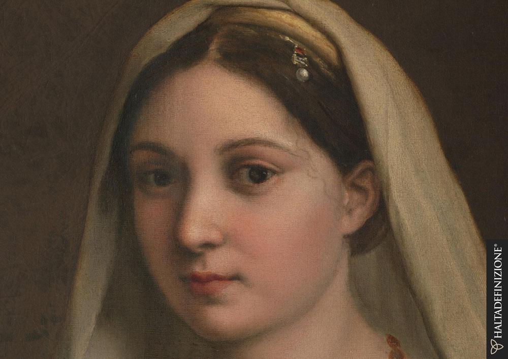 Digitalizzati in gigapixel sei capolavori di Raffaello custoditi alle Gallerie degli Uffizi