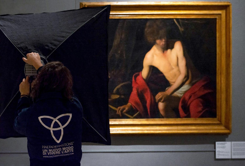 Palazzo Barberini, i capolavori di Caravaggio digitalizzati in altissima definizione
