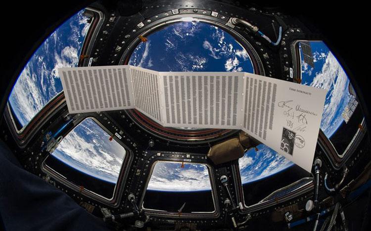 Per la prima volta nella storia la Divina Commedia sarà liberata nello spazio