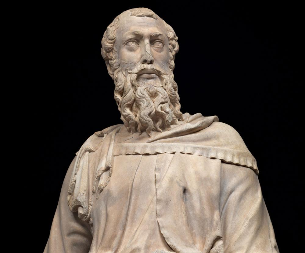 Restaurato il San Marco di Orsanmichele, opera giovanile di Donatello