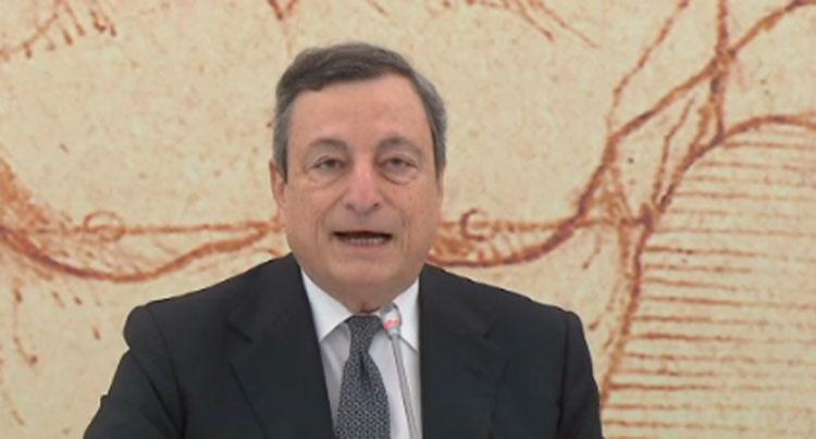 """Turismo, Draghi: """"L'Italia è pronta a ospitare il mondo"""". Green pass nazionale da metà maggio"""
