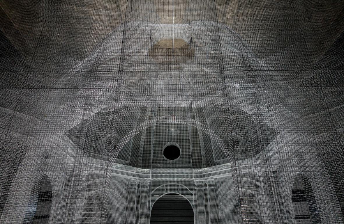 A Ravenna arriva Sacral di Edoardo Tresoldi, tempio di rete metallica che rievoca Dante