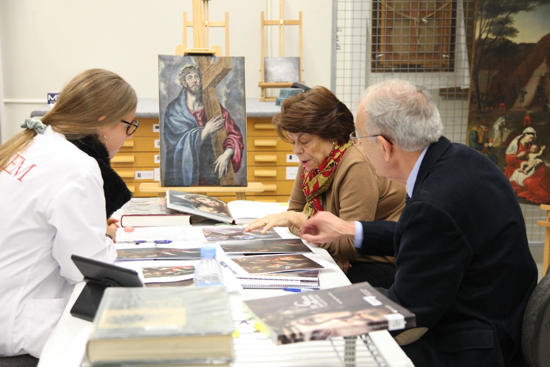 Un team dell'Università di Lleida attribuisce un Cristo portacroce a El Greco
