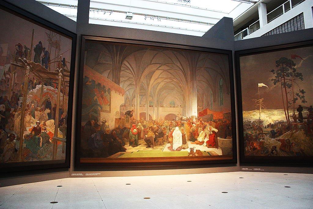 Dopo 100 anni finalmente il più vasto capolavoro di Alfons Mucha trova una casa a Praga