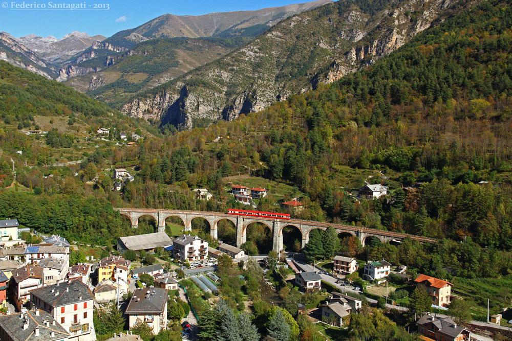 Ecco la classifica dei Luoghi del Cuore FAI: al primo posto la ferrovia Cuneo-Ventimiglia-Nizza