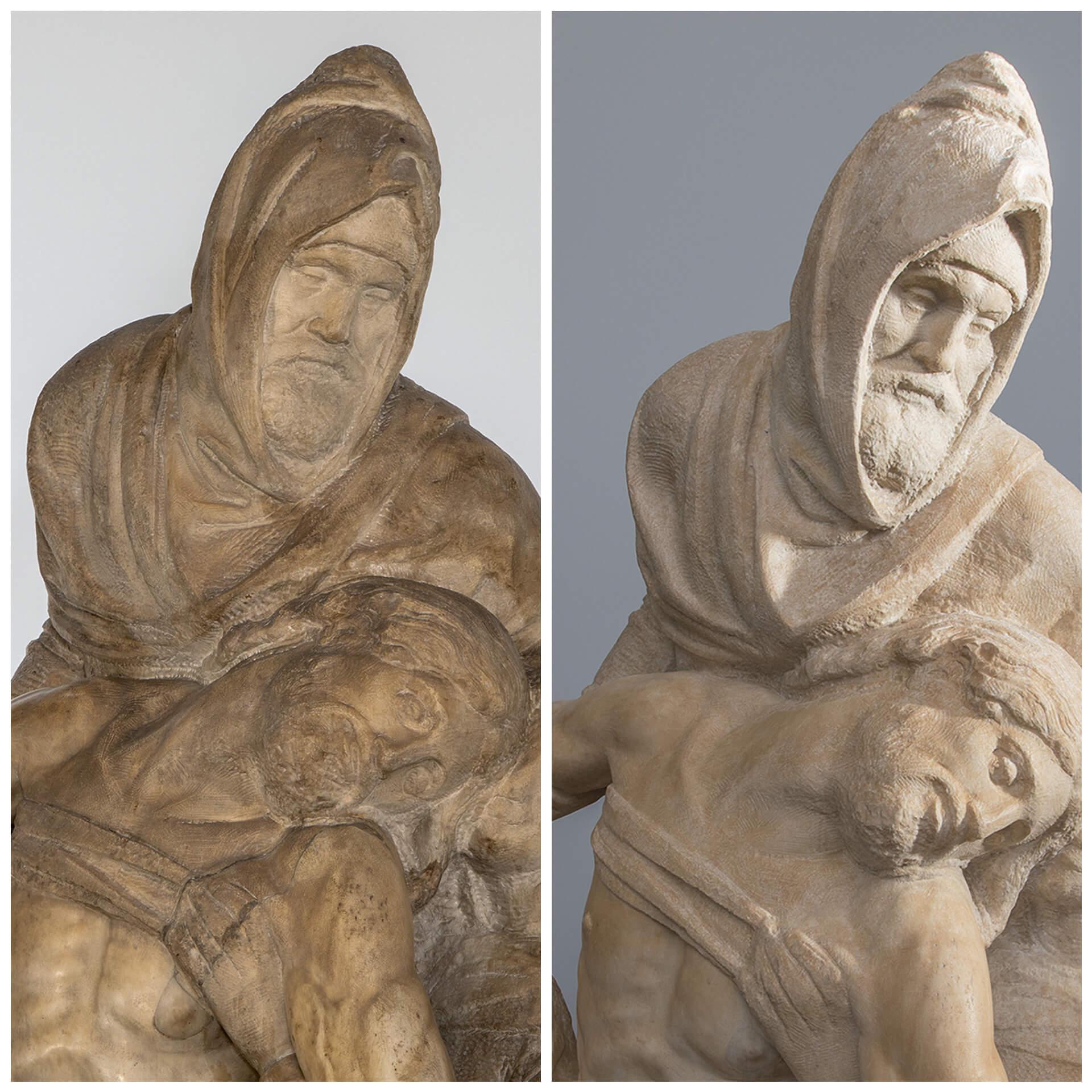 Firenze, termina il restauro della Pietà Bandini di Michelangelo, con nuove scoperte