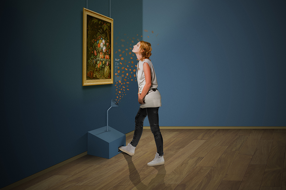 In Olanda una mostra ricrea, e vi fa sentire, gli odori delle scene dipinte nei quadri