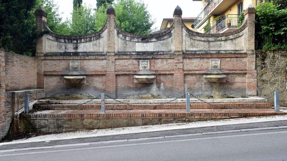 Art Bonus, il restauro della Fonte di San Francesco a Perugia è miglior progetto dell'anno