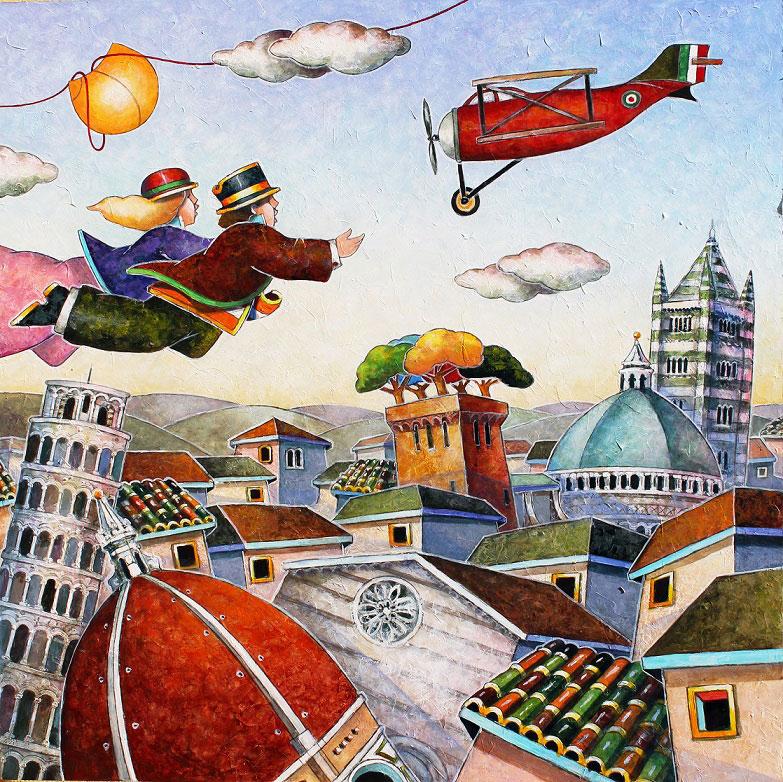 Il Piccolo Principe di Francesco Nesi: un viaggio fantastico in mostra al Lu.C.C.A.