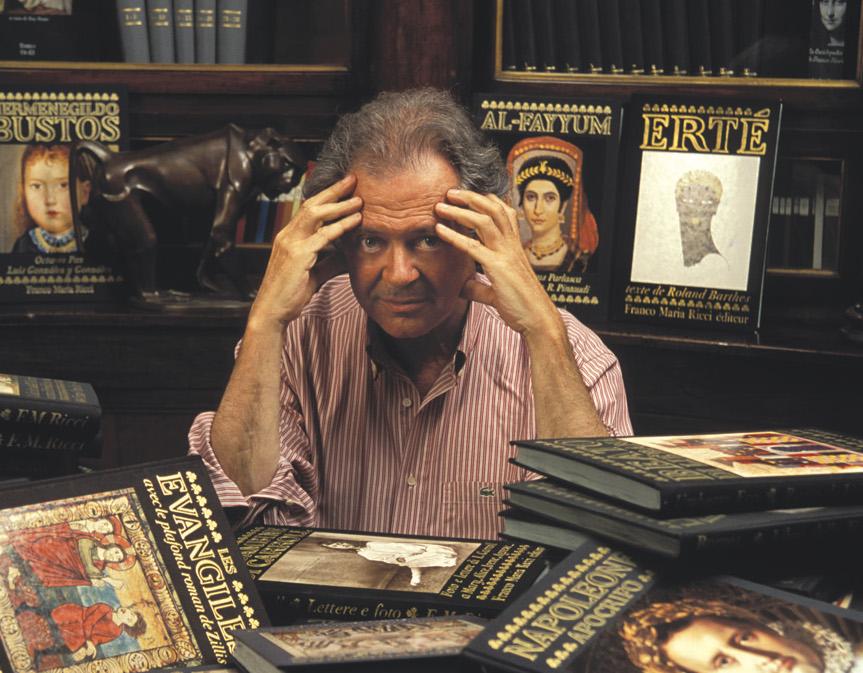 La casa editrice Franco Maria Ricci presenta il suo sito e sbarca sui social