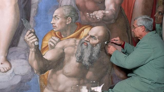 Addio a Gianluigi Colalucci, storico restauratore della Cappella Sistina
